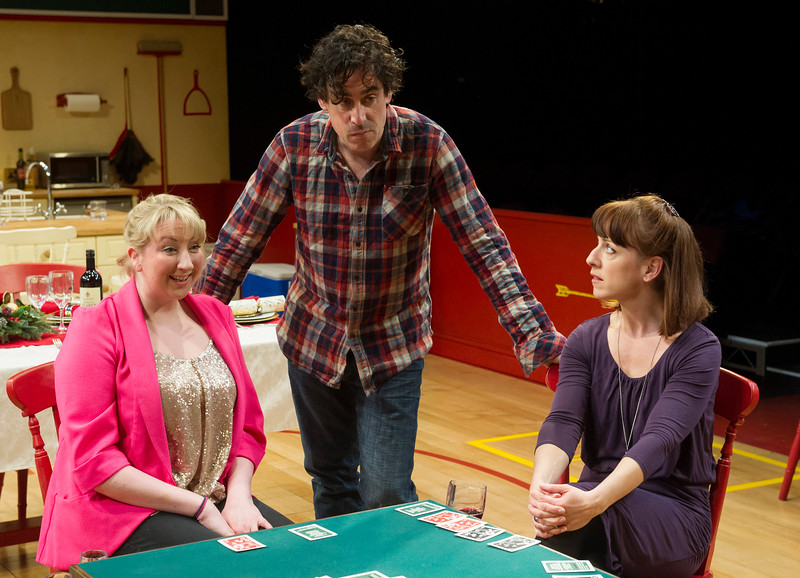 'Rules for Living' Play by Sam Holcroft performed in the Dorfman Theatre at the Royal National Theatre, London, UK