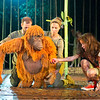 'Running Wild' Play performed at the Open Air Theatre, Regent's Park, London, UK