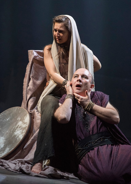 'Salome' Play performed in the Olivier Theatre at the Royal National Theatre, London, UK