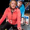'Scary Bikers' Play by John Godber performed at the Trafalgar Studios, London, UK