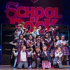'School of Rock The Musical' Theatre performed at The New London Theatre,UK