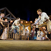 'Seven Brides for Seven Brothers' Musical performed at the Open Air Theatre, Regent's Park, London, UK