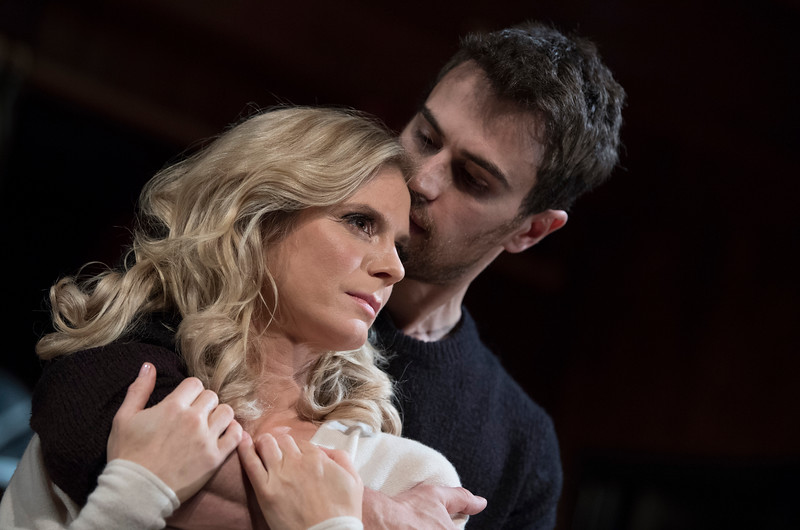 'Sex With Strangers' Play performed at Hampstead Theatre, London, UK
