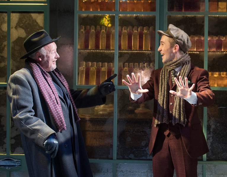 'She Loves Me' Musical performed at the Menier Chocolate Factory Theatre, London, UK