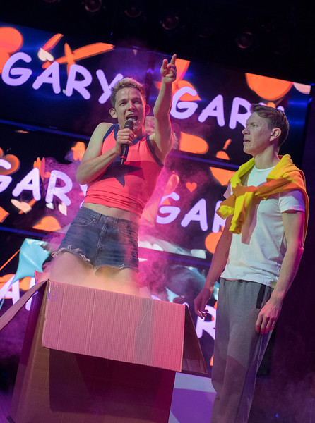 'Shopping and Fucking' Play by Mark Ravenhill performed at the Lyric Theatre, Hammersmith, London, UK