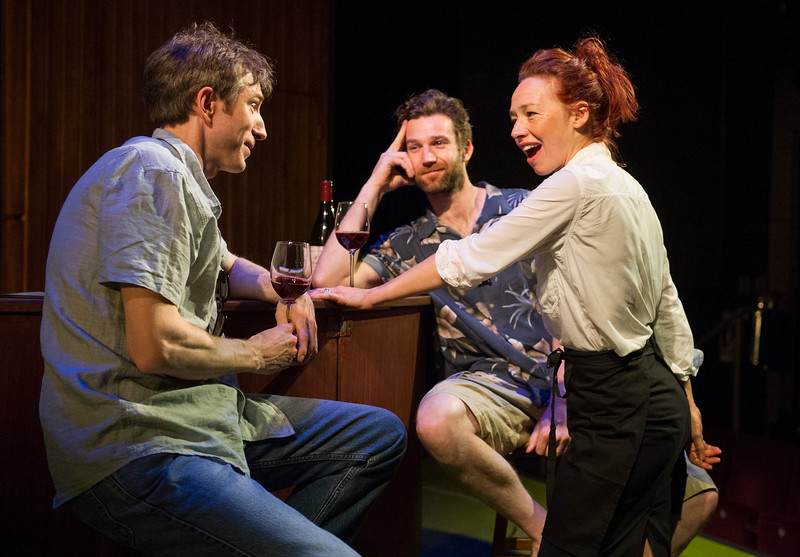 'Sideways' Play by Rex Pickett performed at the St James Theatre, London, UK