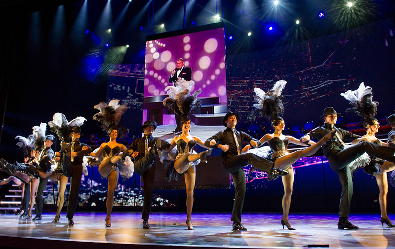 'Sinatra, the man and his music' Performed at the London Palladium. UK
