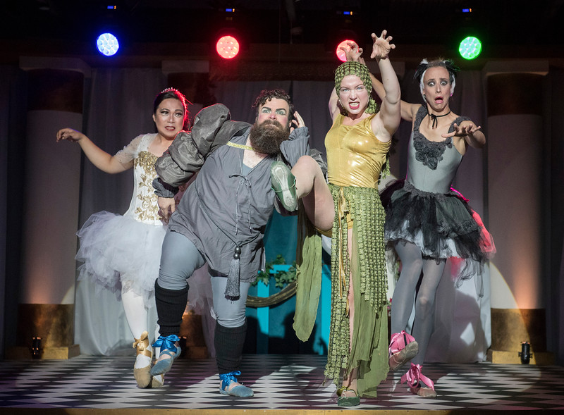 'Sounds and Sorcery Celebrating Disney Fatasia' performed at The Vaults, London, UK