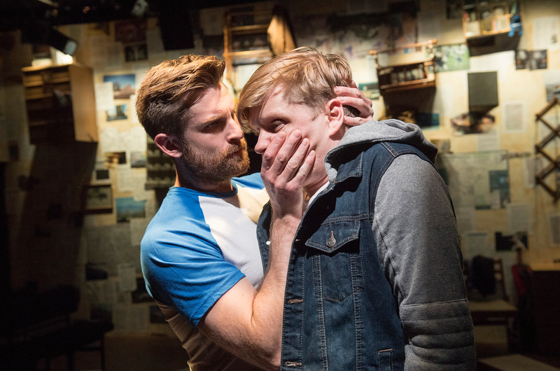 'Stalking the Bogeyman' Play performed at the Southwark Playhouse, London, UK