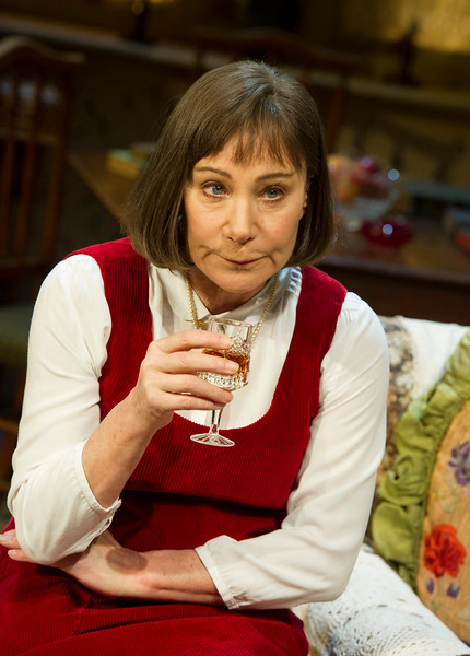 'Stevie' Play performed at Hampstead Theatre, London UK