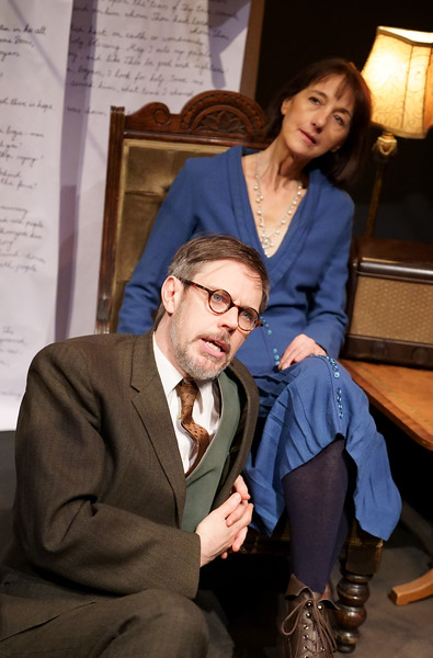 'Stray Dogs' Play performed at the Park Theatre, London, UK
