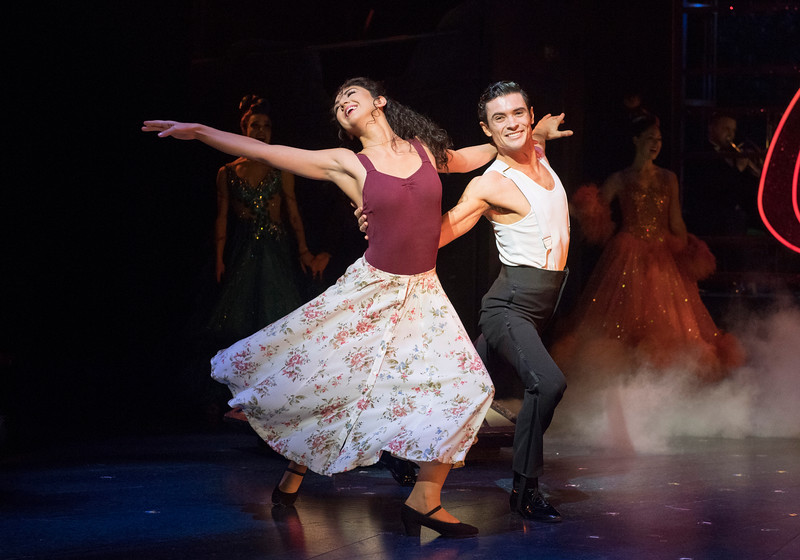 'Strictly Ballroom the Musical' Musical performed at the Piccadilly Theatre, London, UK