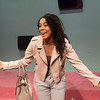 'Superhoe' Play wriiten and performed by Nicole Lecky at the Royal Court Theatre Upstairs, London, UK