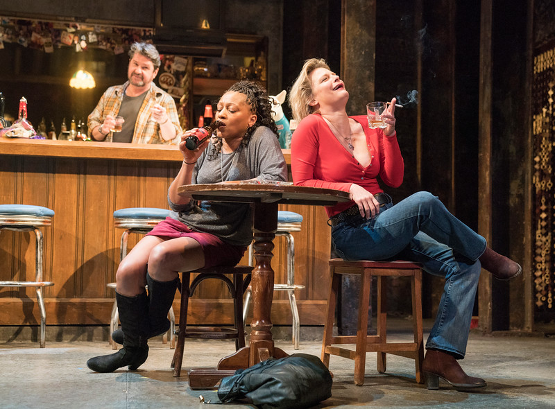 'Sweat' Play performed at the Gielgud Theatre, London, UK