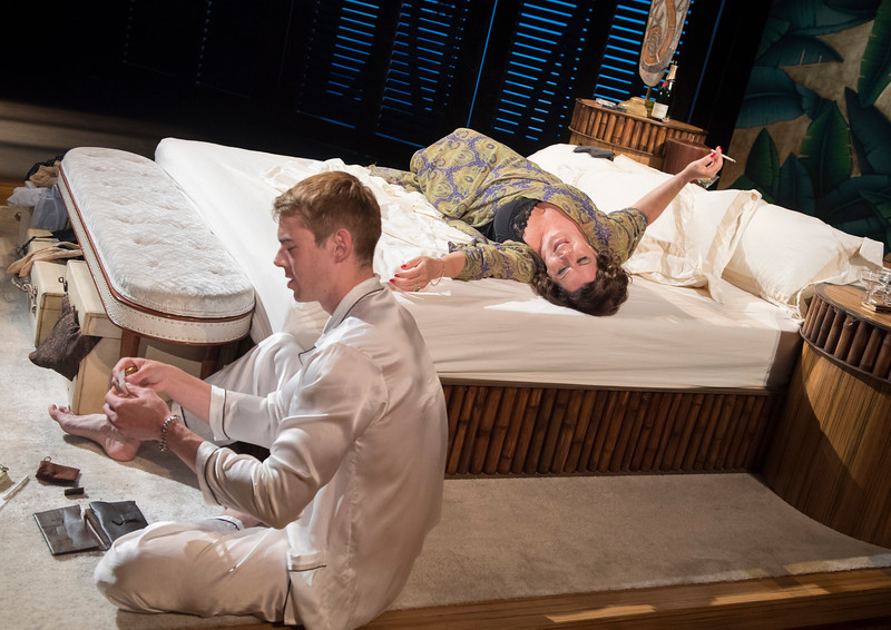 'Sweet Bird of Youth' Play performed at the Festival Theatre, Chichester, UK