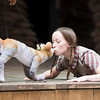 946: The Amazing Story of Adolphus Tips performed by Kneehigh Theatre Company at Shakespeares Globe Theatre, London, UK