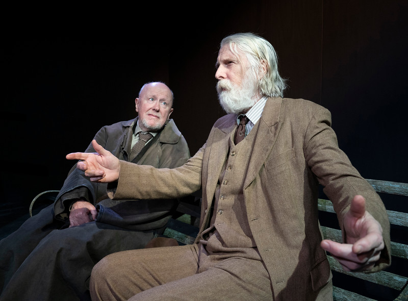 'The Old Tune' Play as part of the Beckett Triple Bill performed at the Jermyn St Theatre, London, UK