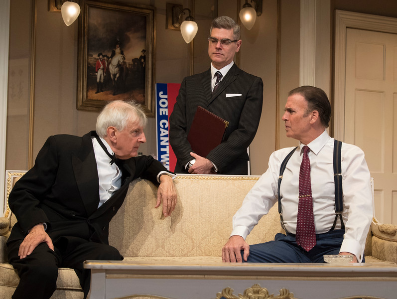 'The Best Man' Play performed at The Playhouse Theatre, London, UK
