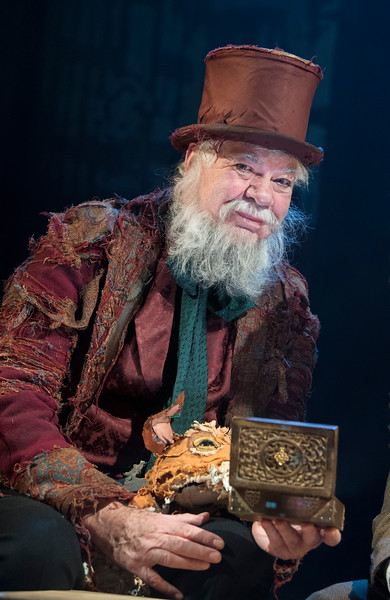 'The Box of Delights' by Piers Torday at Wilton's Music Hall, London, UK