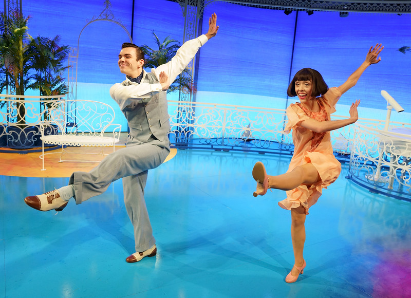 'The Boyfriend' Musical performed at the Menier Chocolate Factory Theatre, London, UK