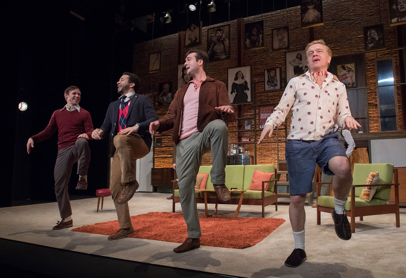 'The Boys in the Band' Play performed at the Vaudeville Theatre, London, UK