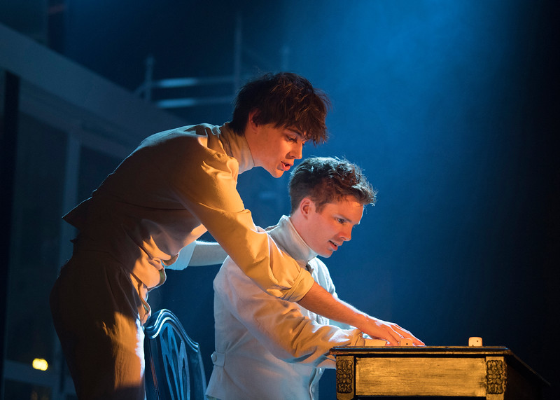 'The Braille Project' Musical performed at the Charing Cross Theatre, London, UK