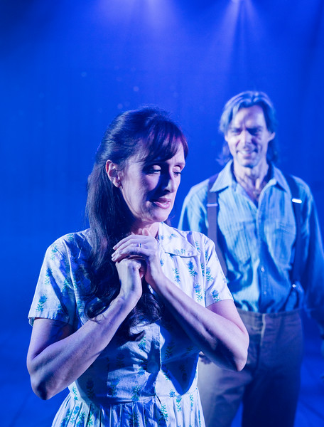 'The Bridges of Madison County' Play performed at the Menier Chocolate Factory, London, UK