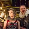 'The Broken Heart' Play by John Ford performed in the Sam Wanamaker Theatre at Shakespeare's Globe, London UK