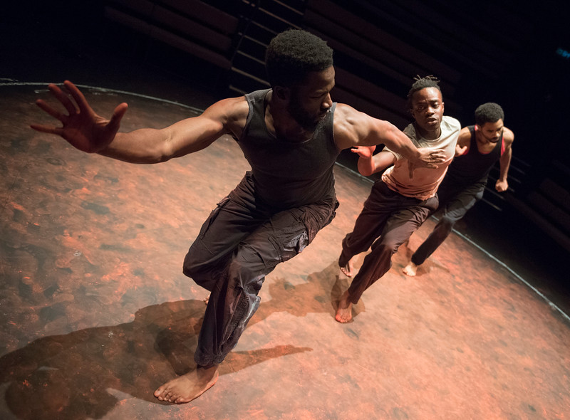 'The Brothers Size' PLay performed at the Young Vic Theatre, London, UK