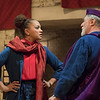 'The Captive Queen' Play performed in the Sam Wanamaker Theatre at Shakespeare's Globe, London, UK