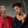 'The Cardinal' Play performed at Southwark Playhouse, London, UK
