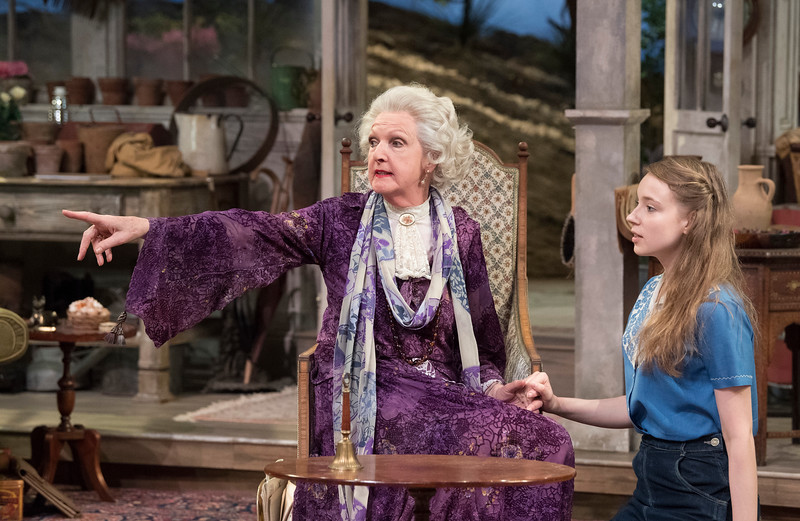 'The Chalk Garden' Play performed at the Chichester Festival Theatre, UK