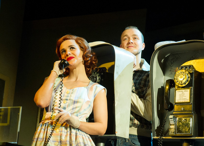 'The Comedy About a Bank Robbery' Play performed at the Critereon Theatre, London, UK