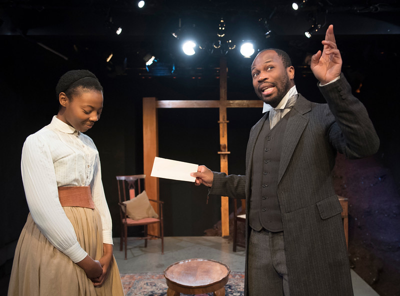 'The Convert' Play performed at the Gate Theatre, London, UK