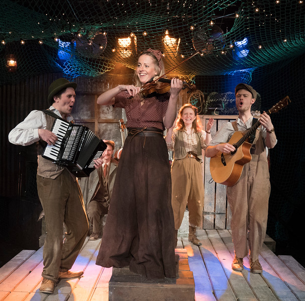 'The Curious Case of Benjamin Button' Play performed at the Southwark Playhouse, London, UK