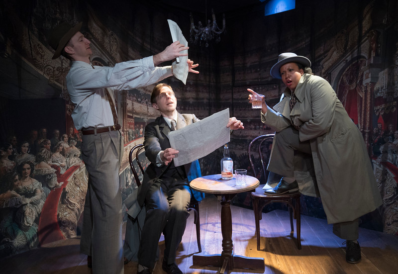 'The Dog Beneath the Skin' Play performed at the Jermyn St Theatre, London, UK
