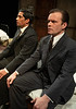 'The Dumb Waiter' Play by Harold Pinter performed at Hampstead Theatre, London, UK