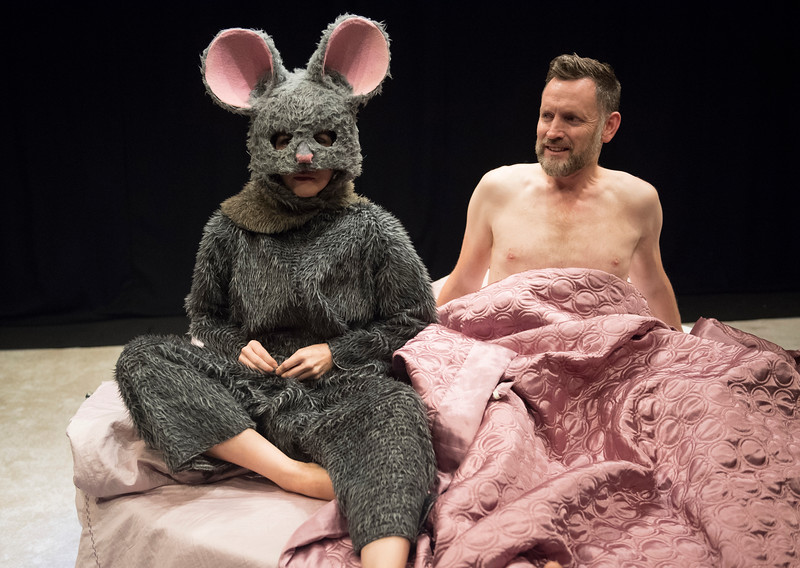 'The End of Hope' Play performed at the Soho Theatre, London, UK