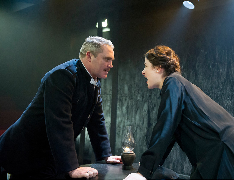 'The Father' Play performed at the Trafalgar Studio, London UK