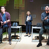 'The Haystack' Play by Al Blyth performed at the Hampstead Theatre, London, UK