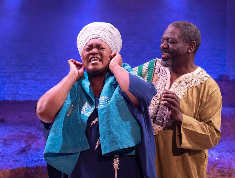 'The High Table' Play performed at the Bush Theatre, London, UK