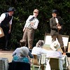 'The Hound of the Baskevilles' Play performed at the Watermill Theatre, Newbury, UK