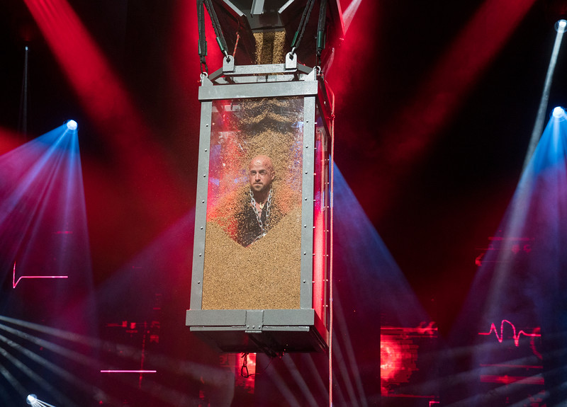 'The Illusionists' Magic Show performed at the Shaftsbury Theatre, London, UK
