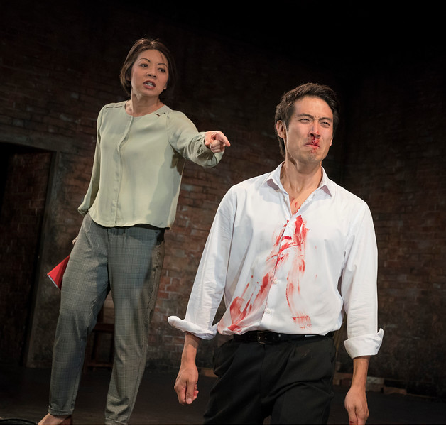 'The King of Hell's Palace' Play performed at Hampstead Theatre, London, UK