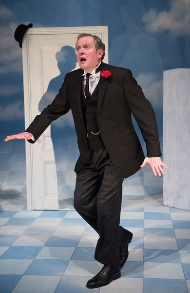 'The Life I Lead' One man show performed by Miles Jupp at the Park Theatre, London,UK