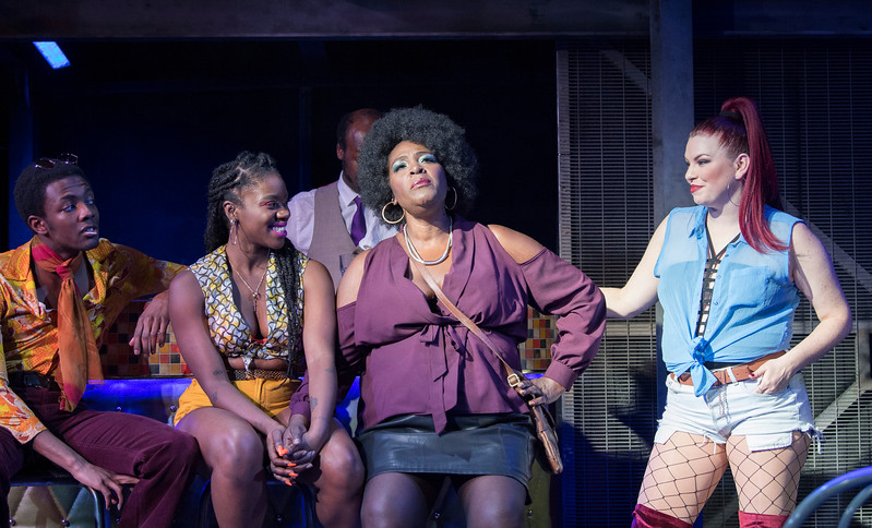 'The Life' Musicalperformed at Southwark Playhouse, London, UK