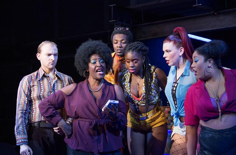 'The Life' Musicalperformed at Southwark Playhouse, London, UK
