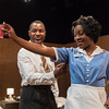 'The Mountaintop' Play performed at the Young Vic Theatre, London, UK