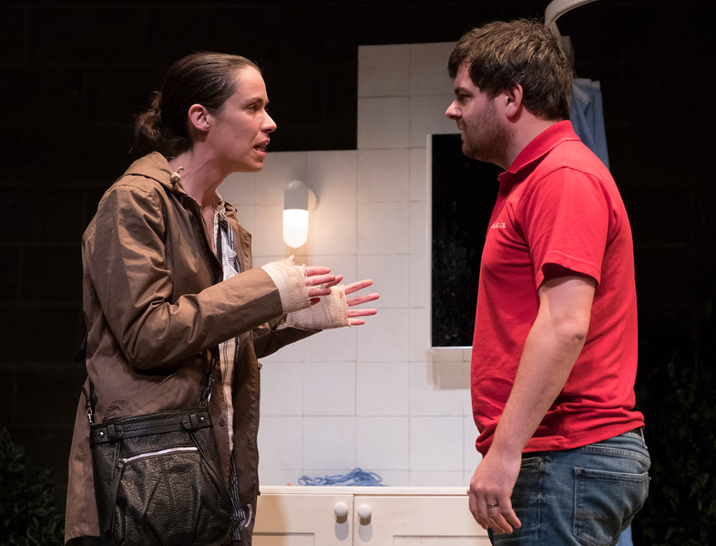 'The Nest' Play by Franz Xaver Kroetz performed at the Young Vic Theatre