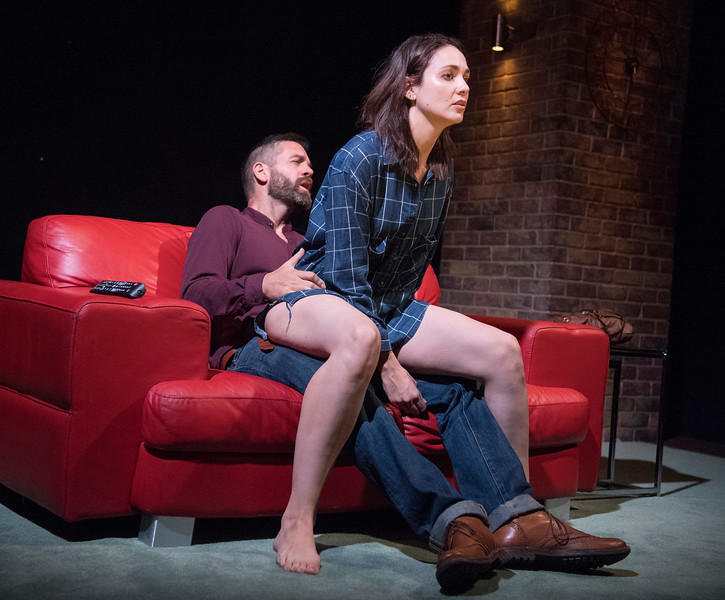 'The One' Play performed at the Soho Theatre, London, UK